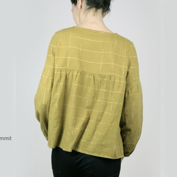 Patron couture Atelier Scammit - Blouse et Robe Petites choses - Taille 34 à 48 - Photo n°3