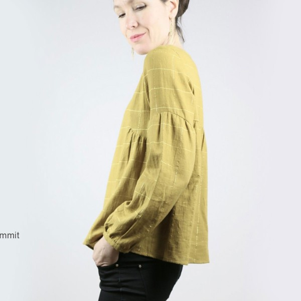 Patron couture Atelier Scammit - Blouse et Robe Petites choses - Taille 34 à 48 - Photo n°4