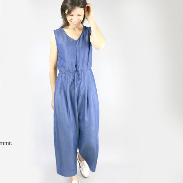 Patron couture Atelier Scammit - Combinaison Jolie Môme - Taille 34 à 48 - Photo n°4