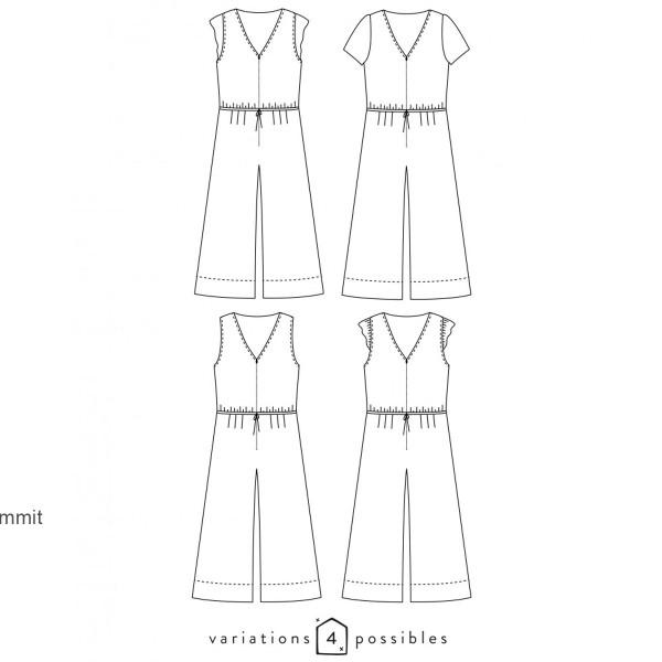 Patron couture Atelier Scammit - Combinaison Jolie Môme - Taille 34 à 48 - Photo n°6