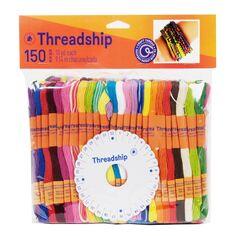 Pack de fils coton Monobrin - Bracelet brésilien - 150 pcs