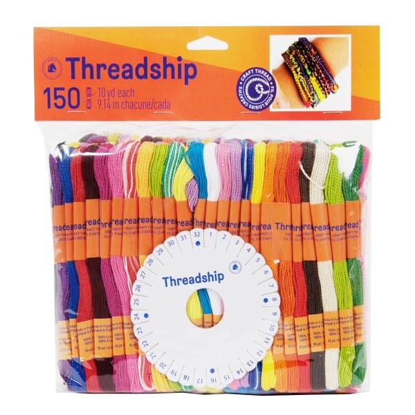 Pack de fils coton Monobrin - Bracelet brésilien - 150 pcs - Photo n°1