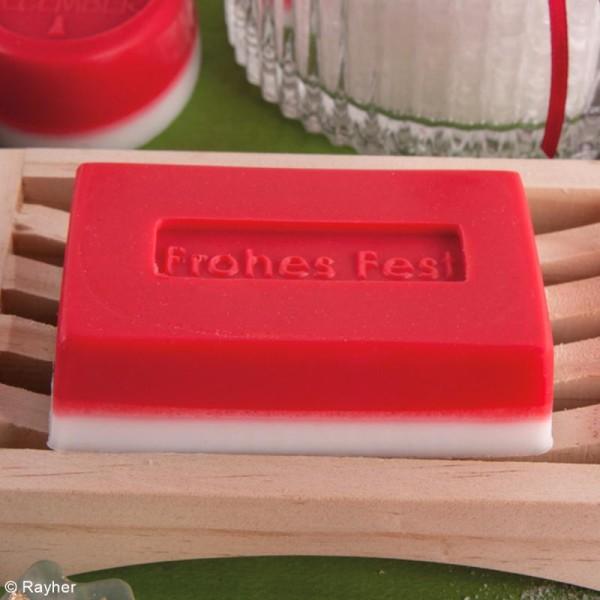 Colorant pour savon - Rouge Classique - 10 ml - Photo n°2