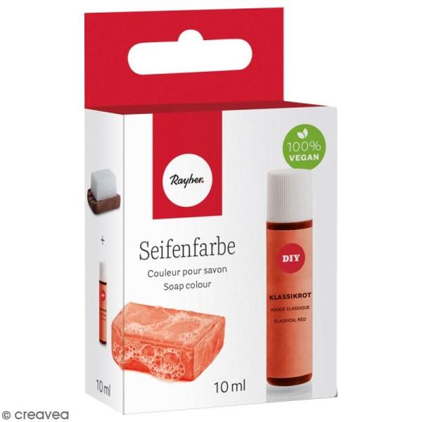 Colorant pour savon - Rouge Classique - 10 ml - Photo n°1