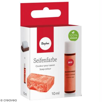 Colorant pour savon - Rouge Classique - 10 ml