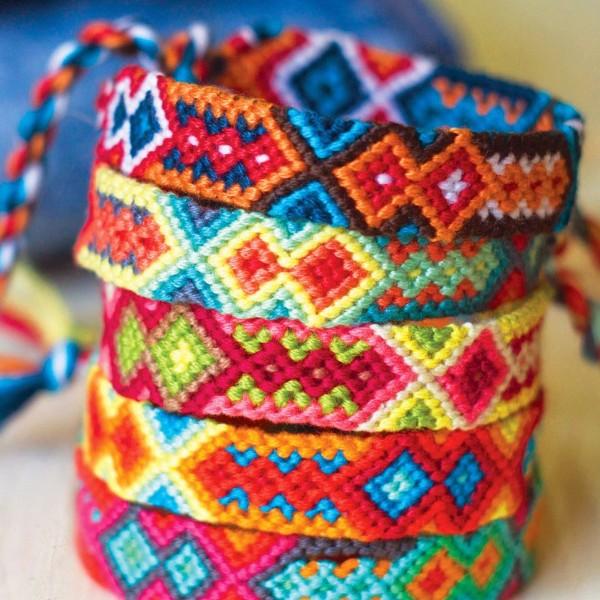 Pack de fils coton Bracelet brésilien - Couleurs primaires - 36 pcs - Photo n°3