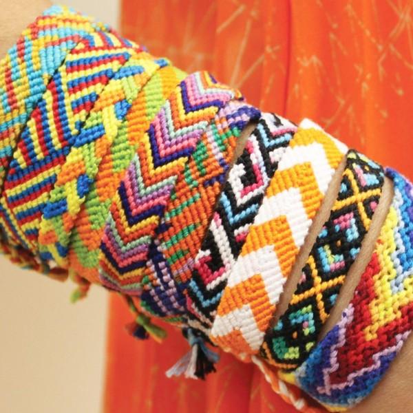 Pack de fils coton Bracelet brésilien - Couleurs dégradées - 36 pcs - Photo n°3