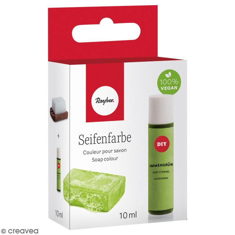 Colorant pour savon - Vert Eternel - 10 ml - Photo n°1