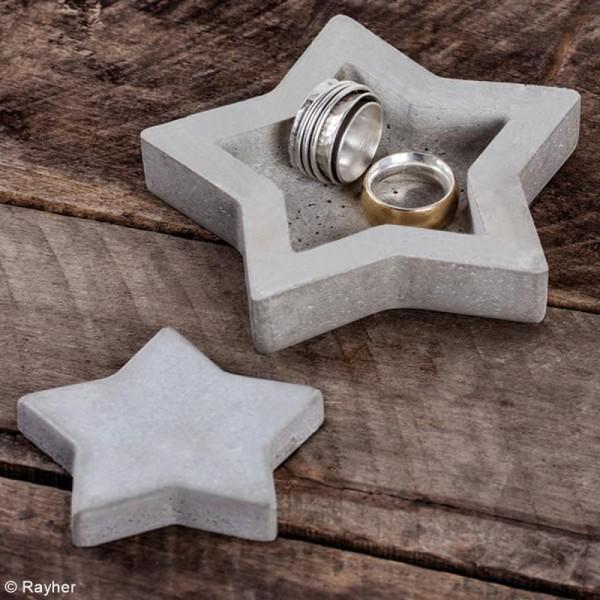 Kit de Bricolage béton créatif - Etoile - Photo n°2