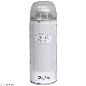 Spray Chalky Finish Rayher - Gris clair - 400 ml