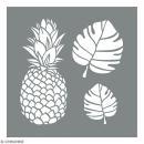 Pochoirs coupés - Tropical - 2 planches - Photo n°1