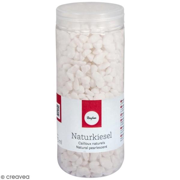 Cailloux naturels blancs - 5 à 8 mm - 475 ml - Photo n°1