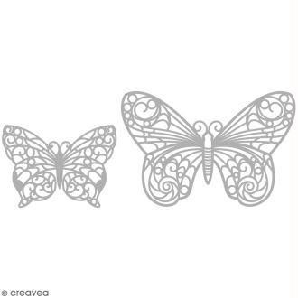 Matrice de découpe Papillons - 2 modèles