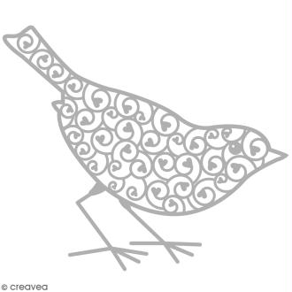 Matrice de découpe Oiseau - 1 modèle