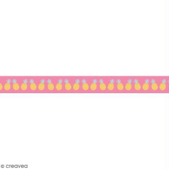 Masking tape en papier washi - Motif Ananas