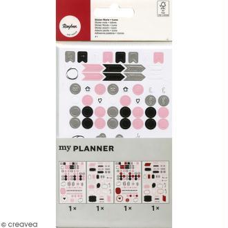 Stickers Symboles My planner- Mots et Icônes