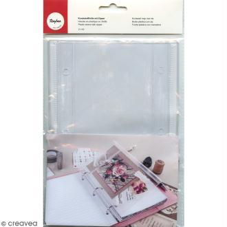 Pochette plastique de rangement à zip My planner