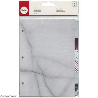 Intercalaires A5 My planner Rahyer - Différents motifs - 12 pcs