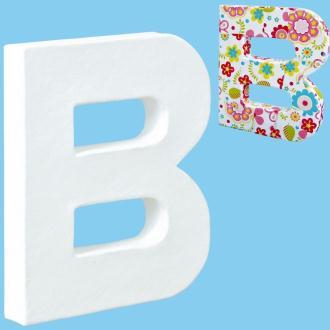 Lettre en carton mini 12 cm B