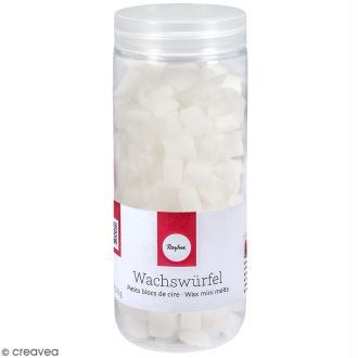 Petits blocs de cire à bougie - Blanc - 200 g