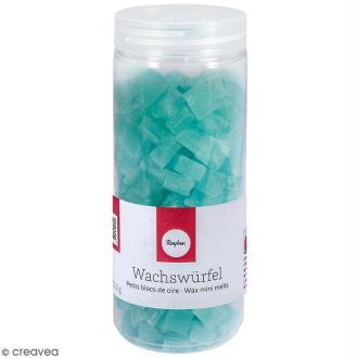 Petits blocs de cire à bougie - Turquoise - 200 g