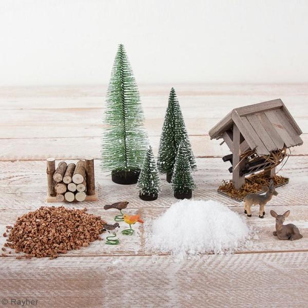 Kit jardin miniature - Noël winterdream - 13 pcs - Photo n°2