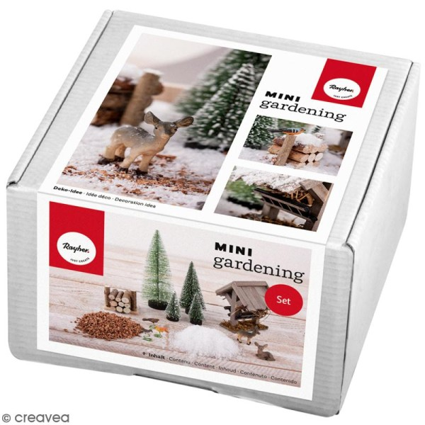 Kit jardin miniature - Noël winterdream - 13 pcs - Photo n°1