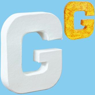 Lettre en carton mini 12 cm G