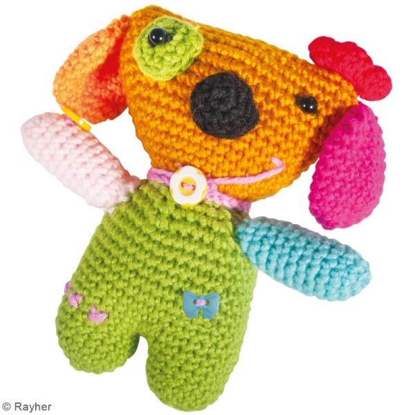 Kit crochet - Chien - Multicolore - Photo n°2