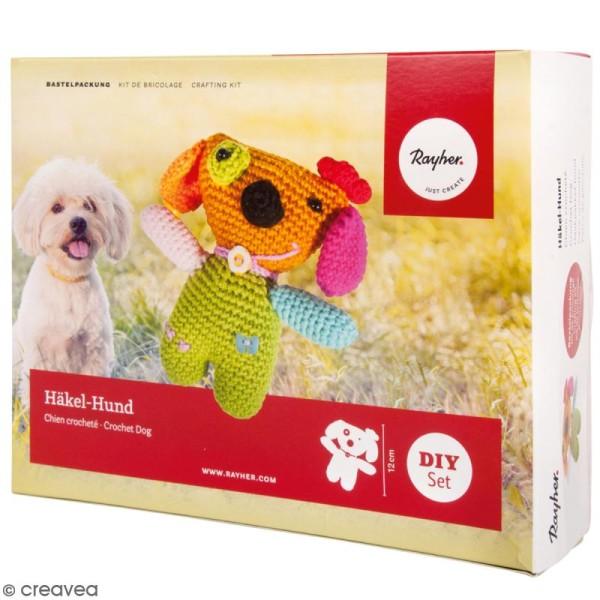 Kit crochet - Chien - Multicolore - Photo n°1