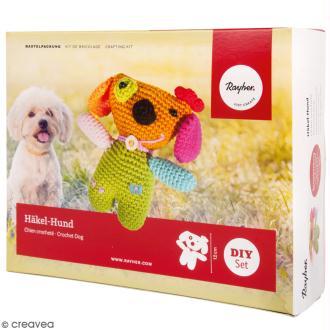 Kit crochet - Chien - Multicolore