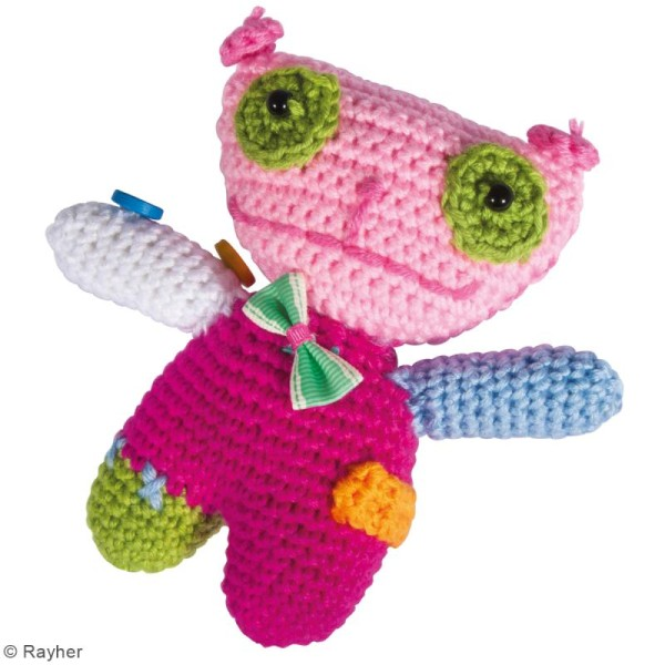 Kit crochet - Chat - Multicolore - Photo n°2