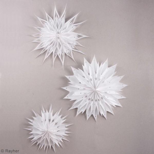 Kit étoiles magiques sacs en papier - Blanc - 31 à 46 cm - Photo n°2