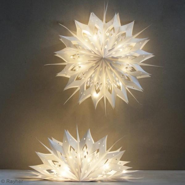 Kit lampions et arcs magiques sacs en papier - Blanc - 47 cm - Photo n°4