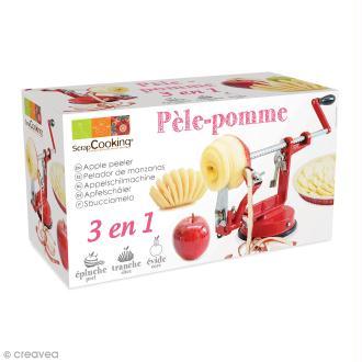 Pèle-pomme 3 en 1 Scrapcooking