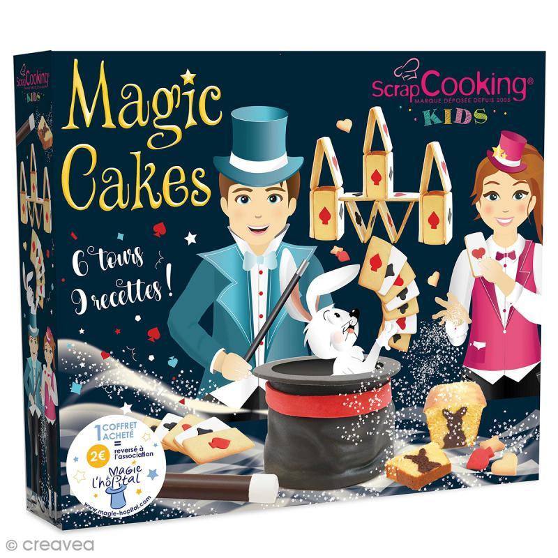 Coffret magic cakes scrapcooking coffret cuisine cr ative creavea - Coffret cuisine creative ...