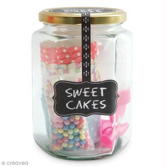 Kit Déco cupcake - Sweet cakes - Douilles et caissettes