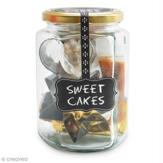 Kit Déco Biscuits - Sweet cakes - Découpoirs inox