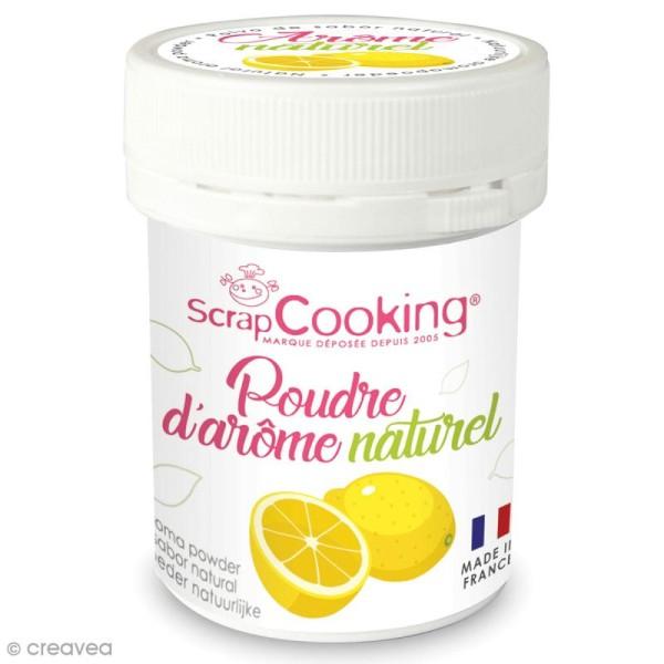 Poudre d'arôme naturel alimentaire Citron 15 g - Photo n°1