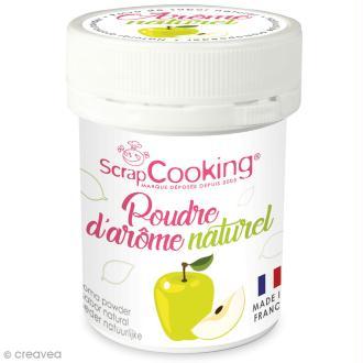 Poudre d'arôme naturel alimentaire Pomme 15 g