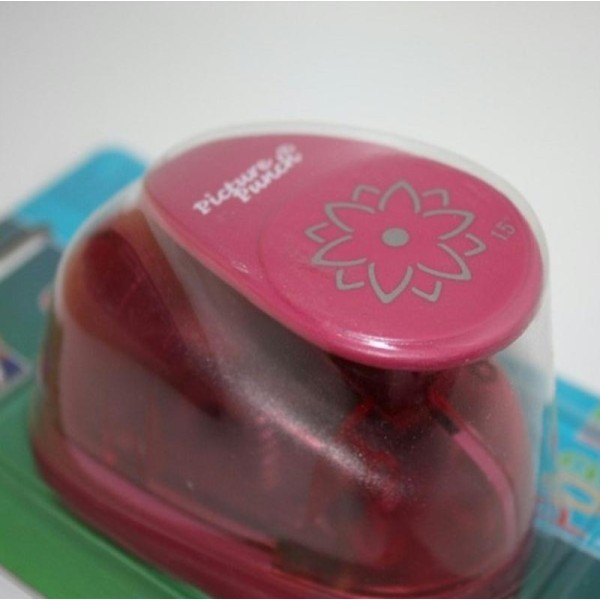 Perforatrice Pop Up large Fleur - Vaessen Creative - 3,8 cm - Photo n°1