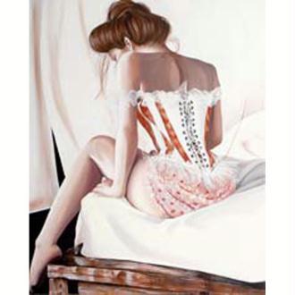 Image 3D Femme - Sensualité 40 x 50