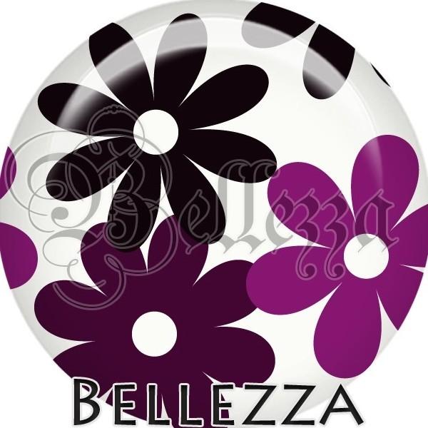 Cabochon, purple, farandole color, plusieurs tailles disponibles - Photo n°1