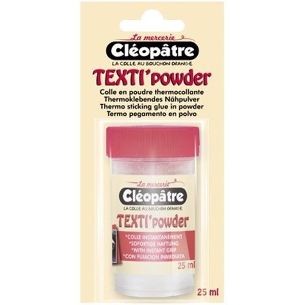 Colle Textile en poudre Cléopâtre - Texti'powder - 25 ml - Photo n°4