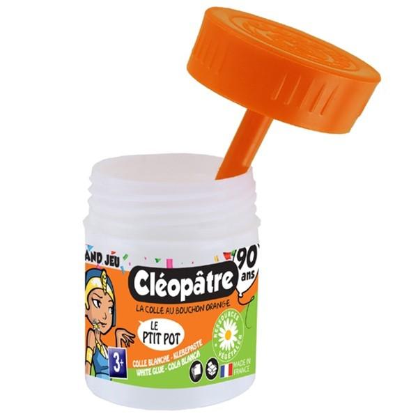 Colle blanche en pot Cléopâtre - Le P'tit Pot - 50 gr - Photo n°2