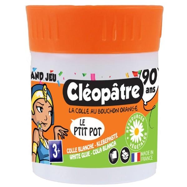 Colle blanche en pot Cléopâtre - Le P'tit Pot - 50 gr - Photo n°1