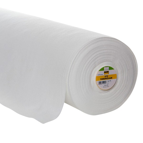 Entoilage à coudre - Vlieseline 272 Molleton - Blanc - Au mètre - Photo n°1