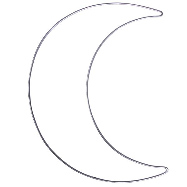 Forme Demi-lune en métal - 19,5 x 25 cm - Photo n°1