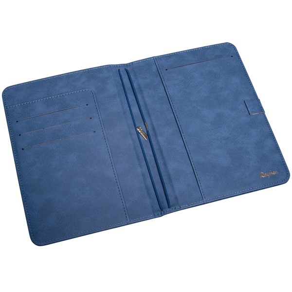 Planner A5 - Traveler's Notebook - Bleu jeans - 60 pages - Photo n°2