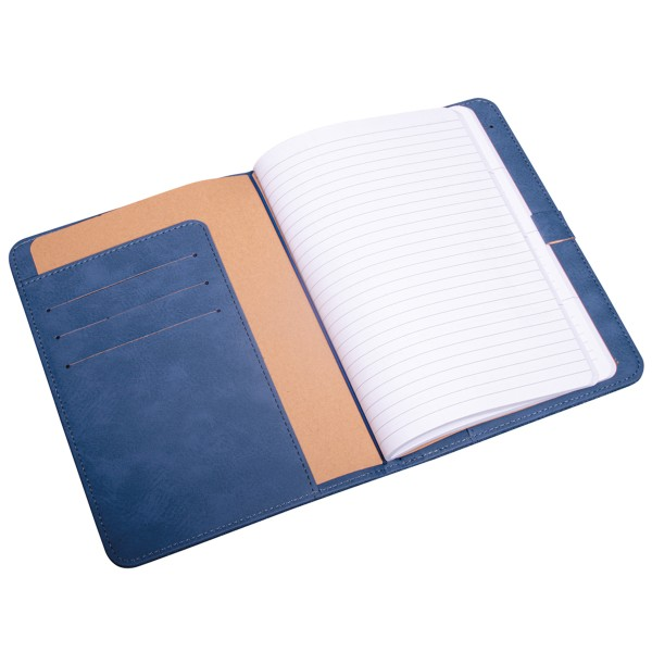 Planner A5 - Traveler's Notebook - Bleu jeans - 60 pages - Photo n°3